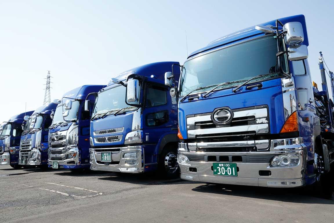 国内トップクラスの輸送クオリティ